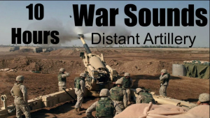 War Sounds - Distant Artillery