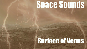 Space Sounds Surface of Venus