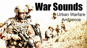 War Sounds Urban Warfare Ambience